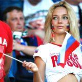 サッカーロシア代表を支える美人?奥様達